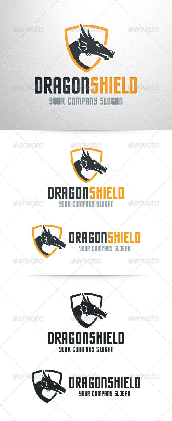Dragon shield logo template photoshop psd psd fight available dragon shield logo template photoshop psd psd fight available here httpsgraphicriveritemdragon shield logo template6868259refpxcr maxwellsz