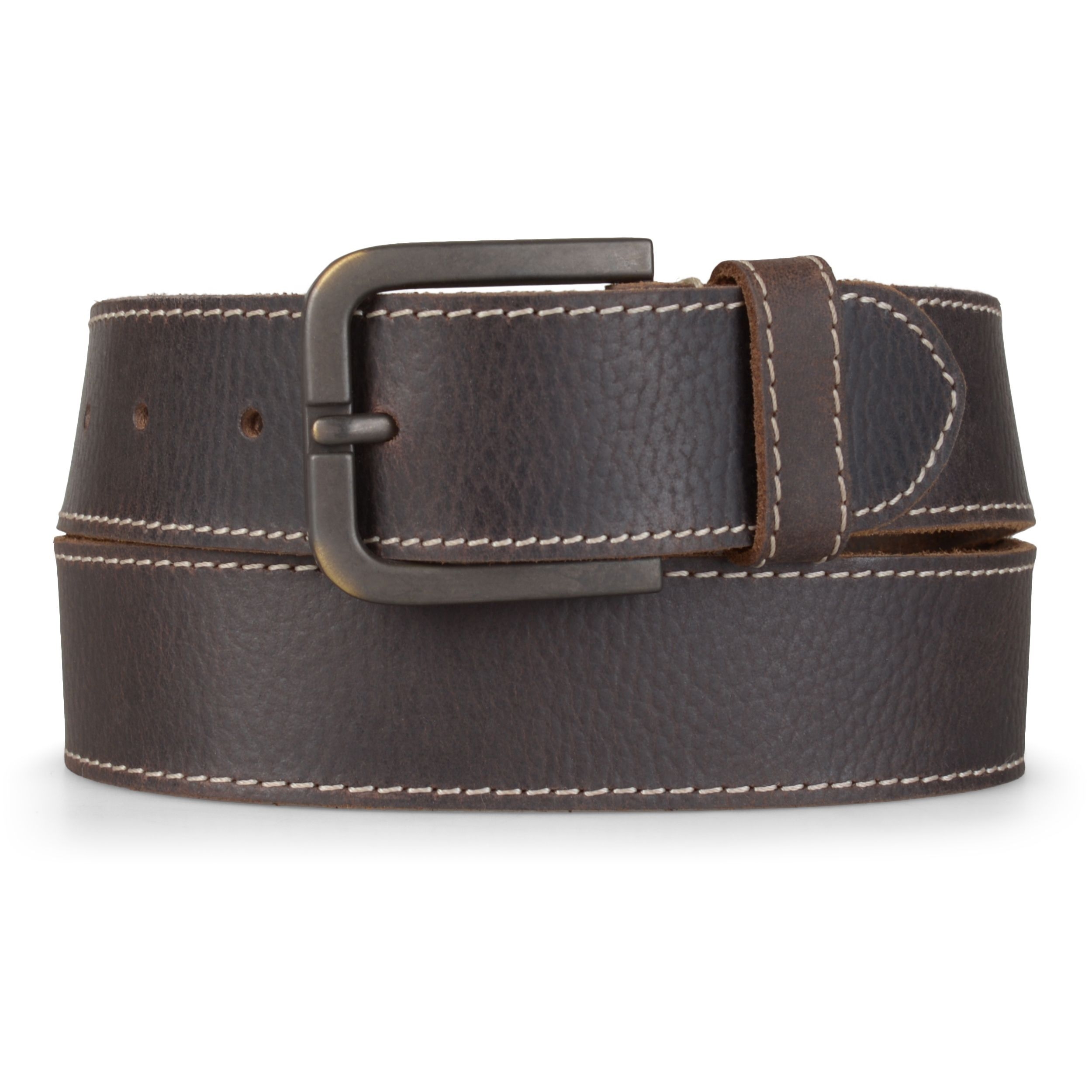 9df3b6958d2 Timberland Men's 40MM Oily Milled Genuine Leather Belt (Brown- 38), Brown