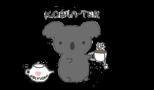 Transparent Koala-Tea by llp909.deviantart.com on @deviantART