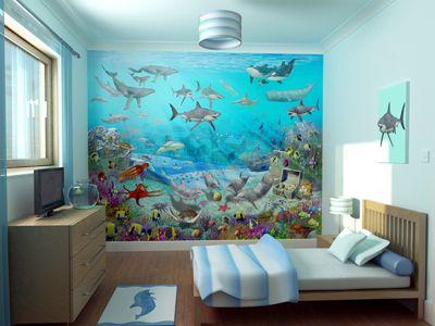 Wall-Mural Home and Designs Pinterest Wall murals, Wall décor