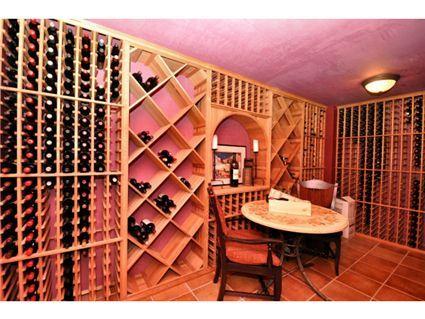Pink wine room