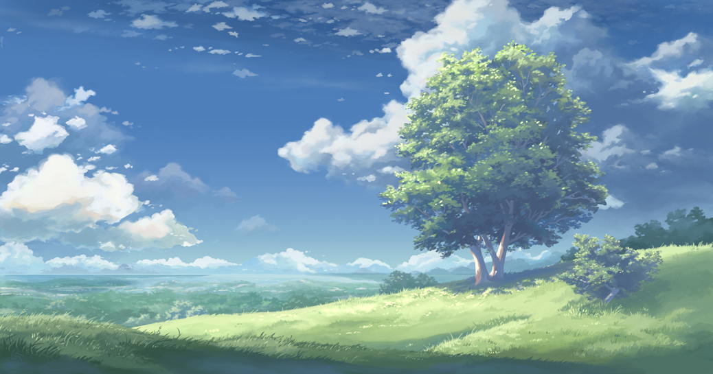 Hill upon Valinfor by Kyomu on DeviantArt