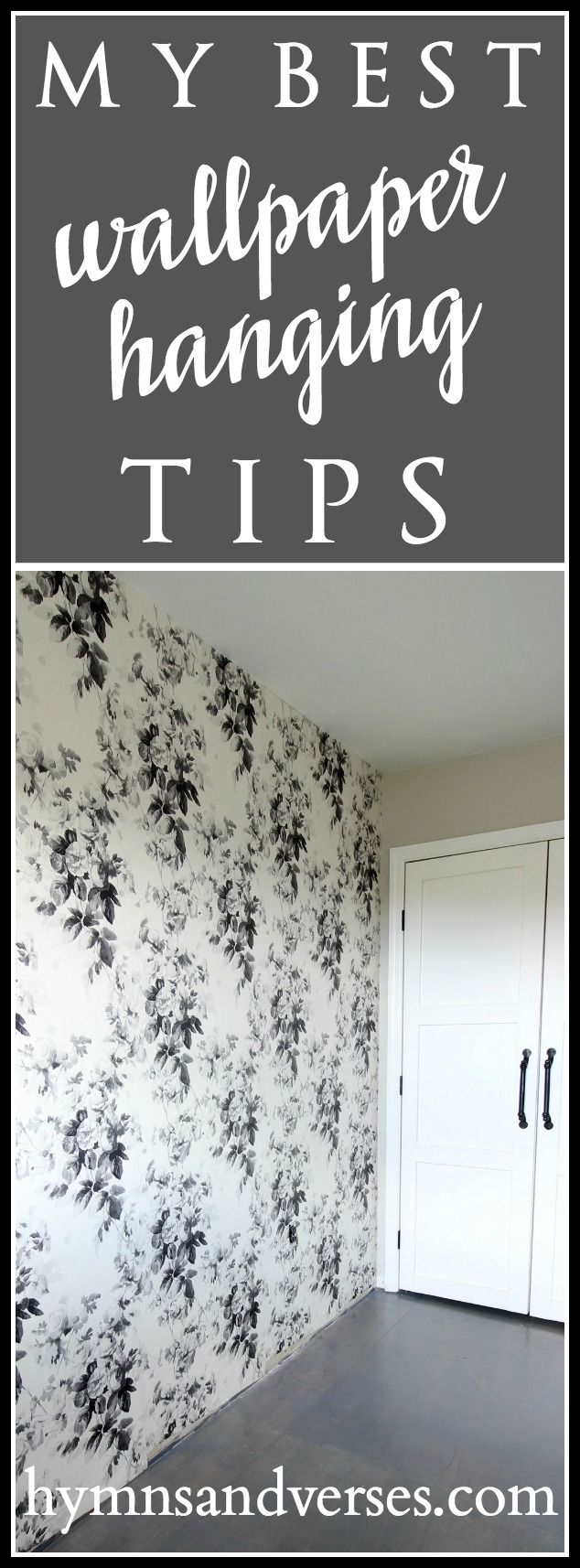 My Best Wallpaper Hanging Tips | Wallpapering tips, How to ...