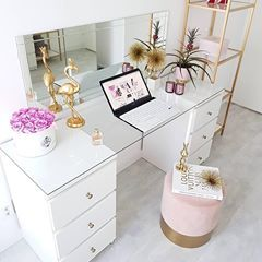 """Photo of WESTWING Germany su Instagram: """"L'home office perfetto per tutte le ragazze glamour là fuori! ? @ homebyhayel #ShopThePost #MyWestwingStyle #WestwingNow """""""