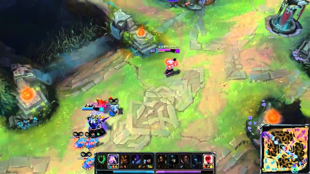 Awesome Lee Sin solo outplay Kassadin