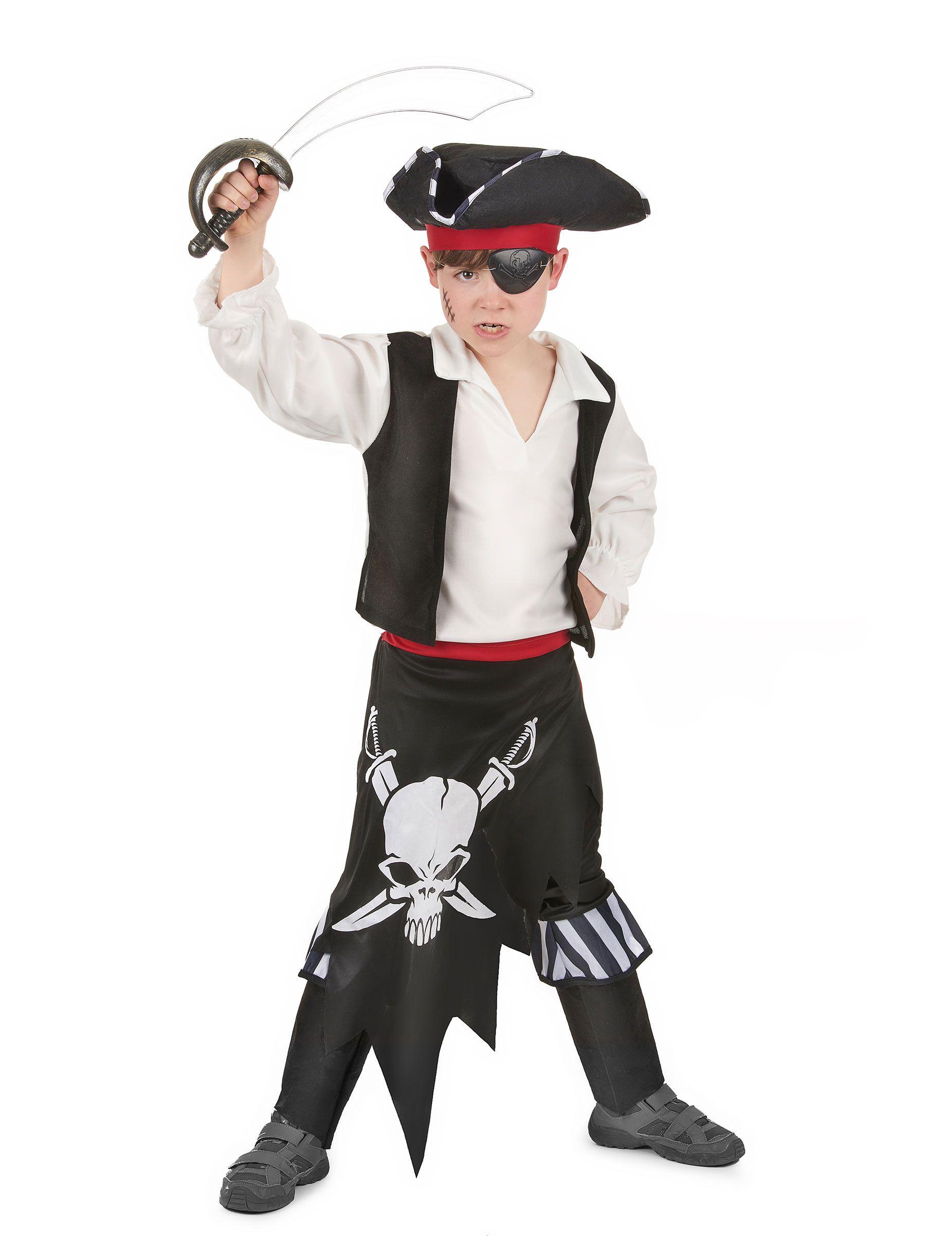 0299f67bd35 Disfraz de rey de los piratas para niño