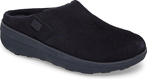 28ab0ff5f06fb Women s Fitflop  Loaff  Clog in Super Navy Suede. Soft leather shapes a  casual clog built with a cushy Microwobbleboard midsole to ensure daylong  comfort.