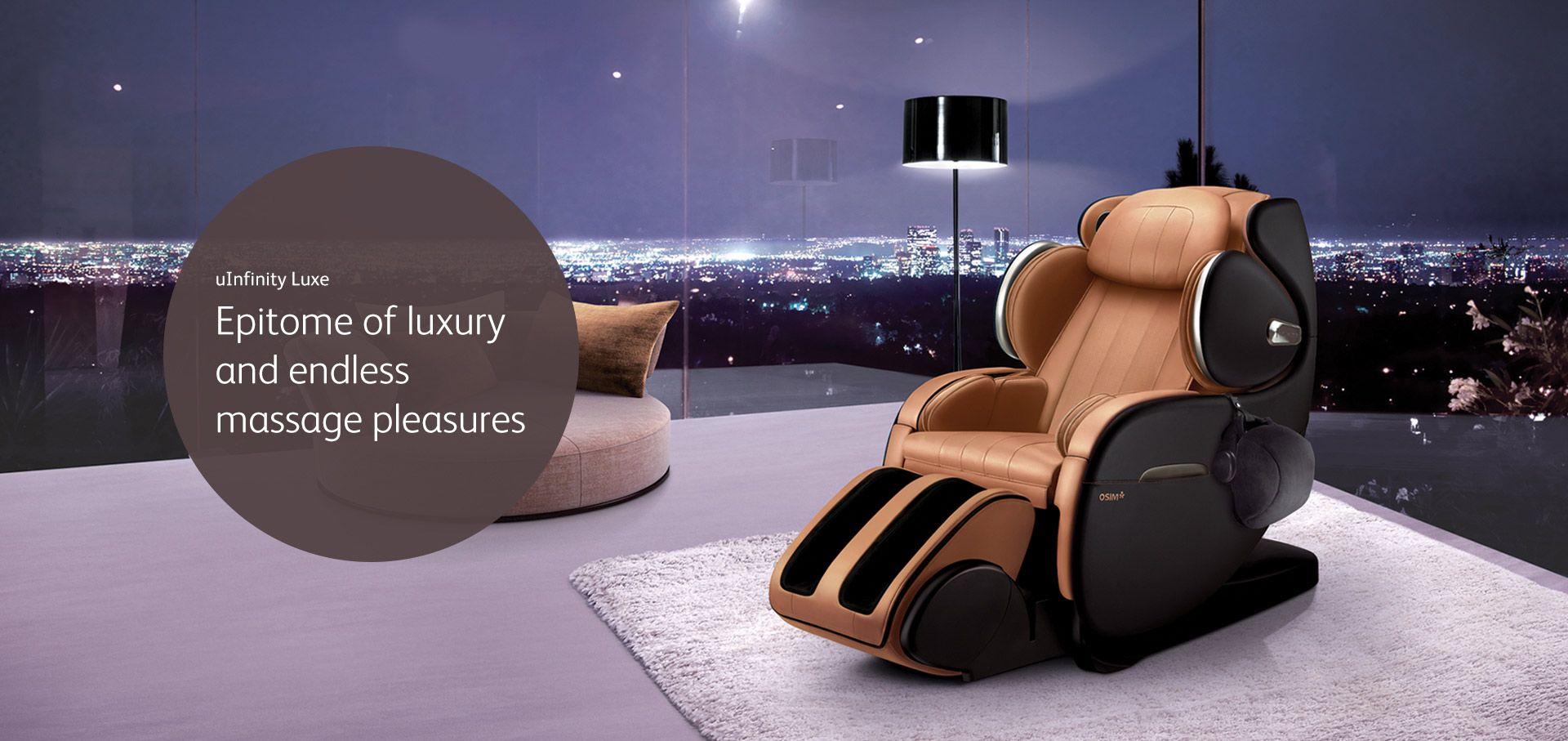 Massage Chair, uInfinity Luxe OSIM Singapore