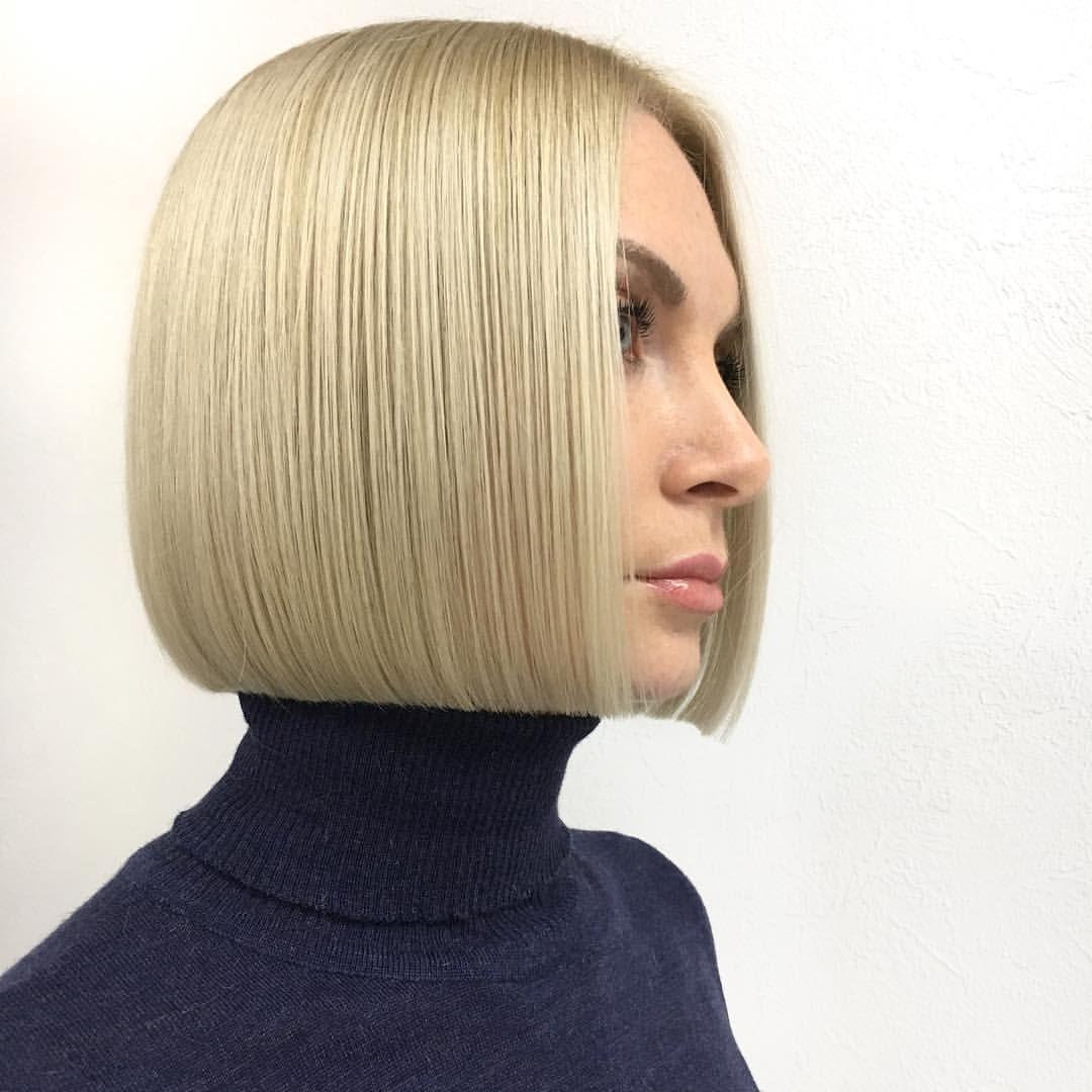 Gefallt 2 901 Mal 51 Kommentare Anton Kochetkov Antonhair Auf Instagram Classic Square Line Bob One Length Hair Bob Hairstyles One Length Haircuts