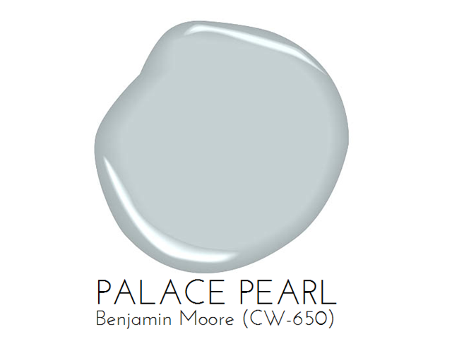 Painting Our Living Room Light Blue Palace Pearl By Benjaminmoore