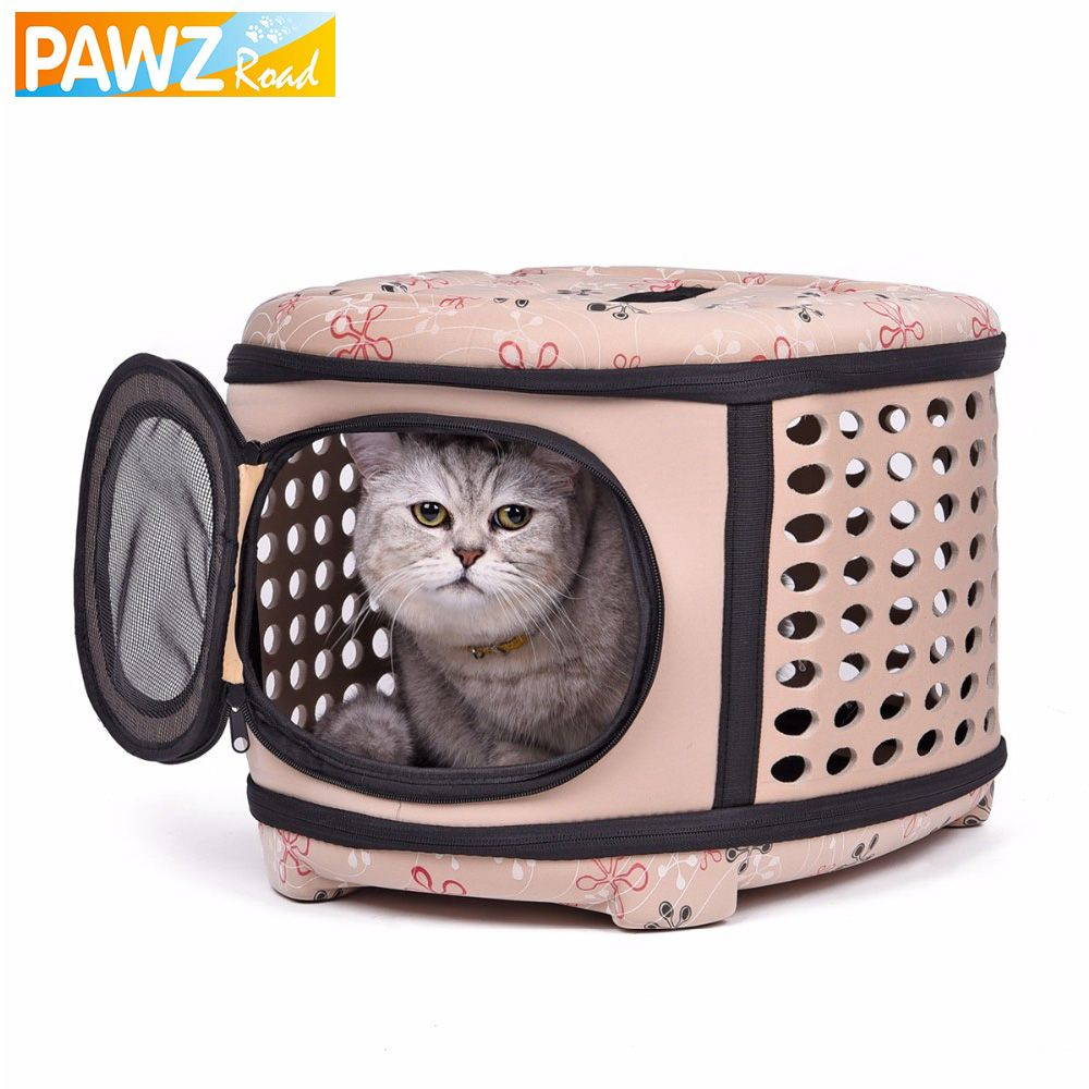 Prodcts for Pet Cat Carriers&Bags Outdoor Carrying Portable Fold Bag ...