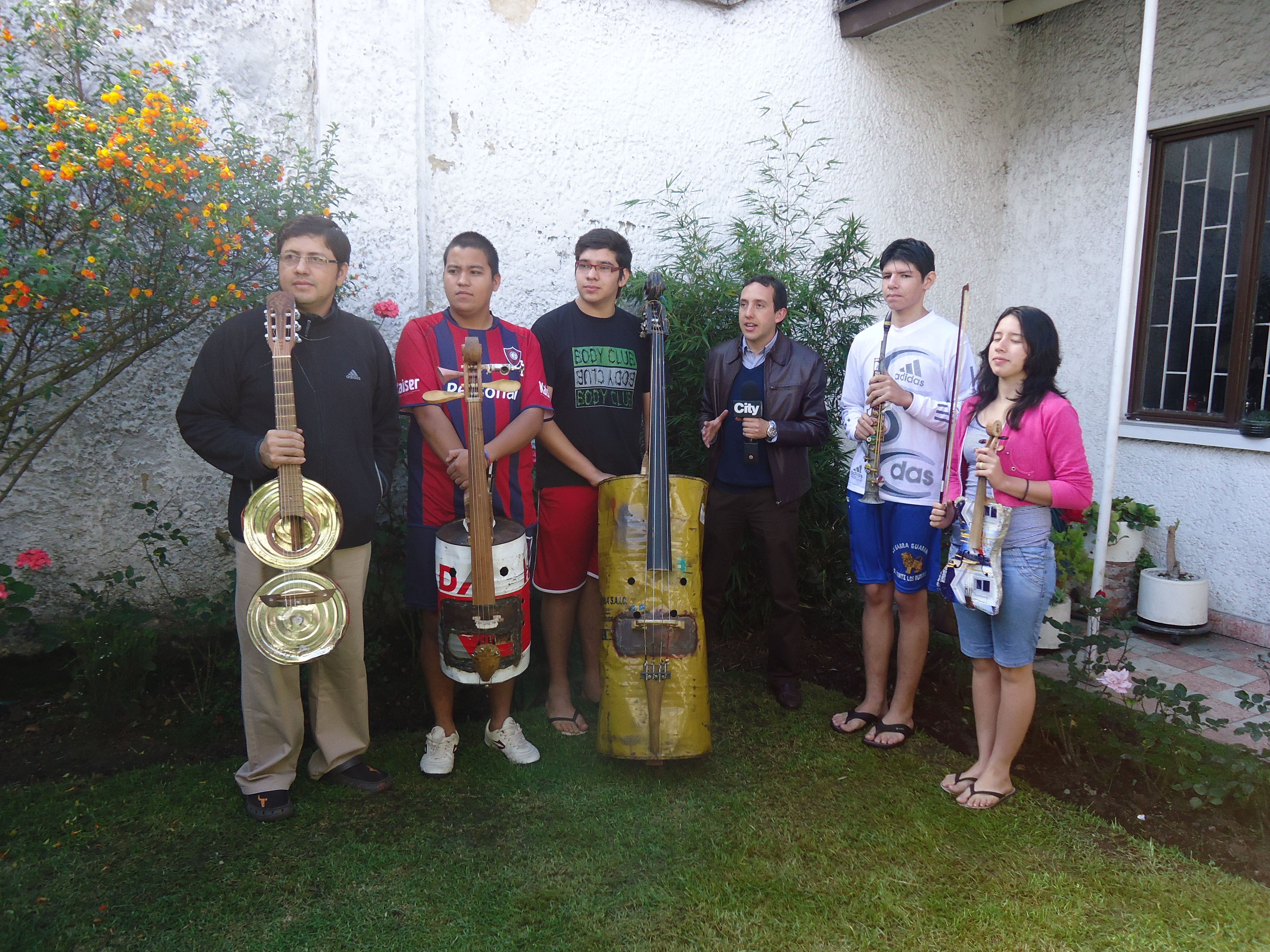 Orquesta de instrumentos reciclados de Cateura, Paraguay