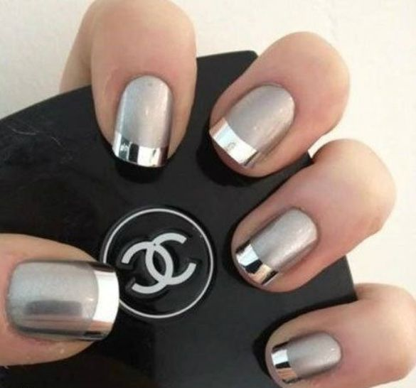 6 summer metallic nail art designs you should try metallic nails 6 summer metallic nail art designs you should try prinsesfo Images
