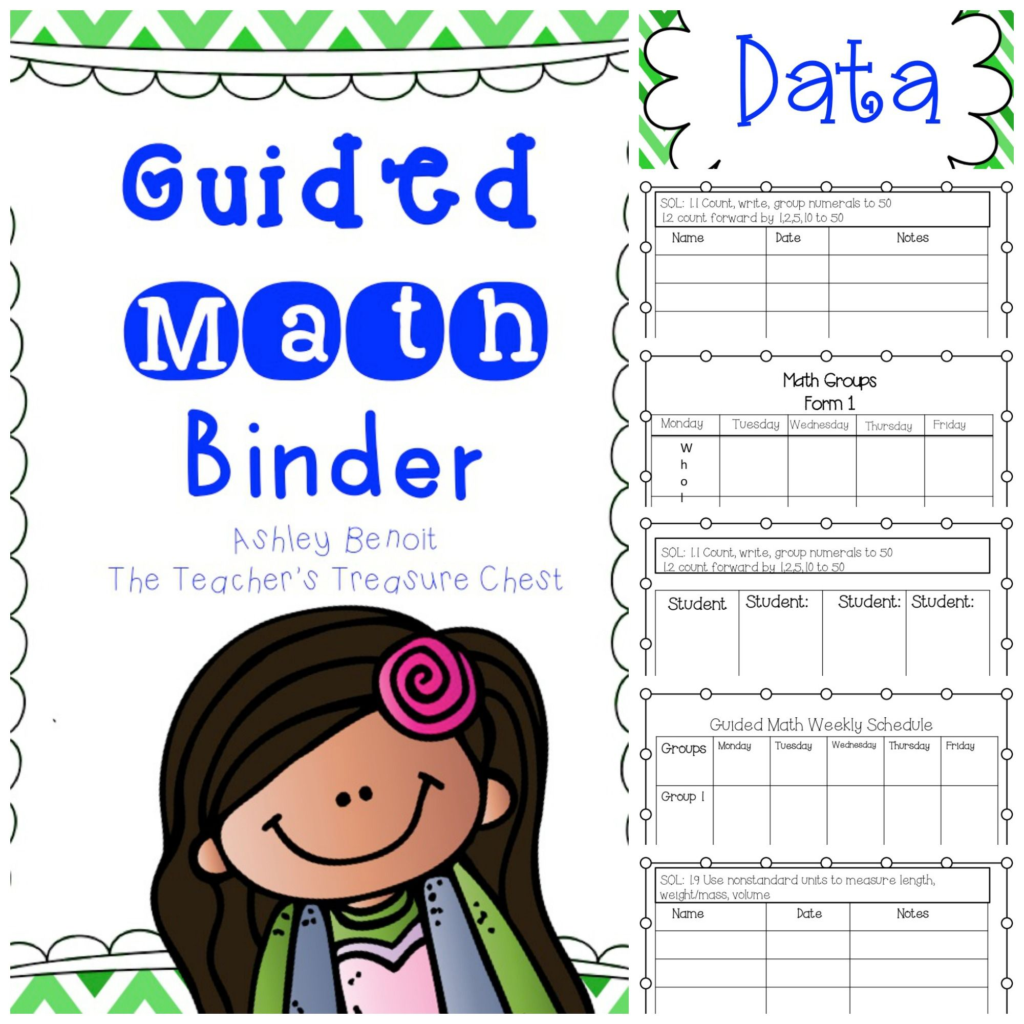 Guided Math, Math Binder, Daily 5 Math