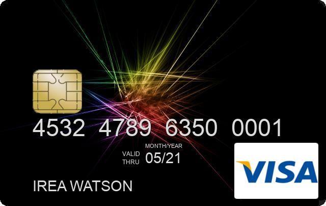 Real Card Generator Visa card numbers, Credit card info, Mobile