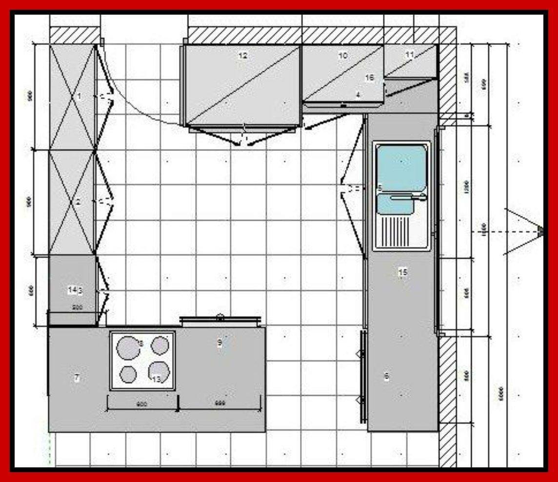 Entwerfen einer Küche umgestalten mit einem modernen Design   Home ...