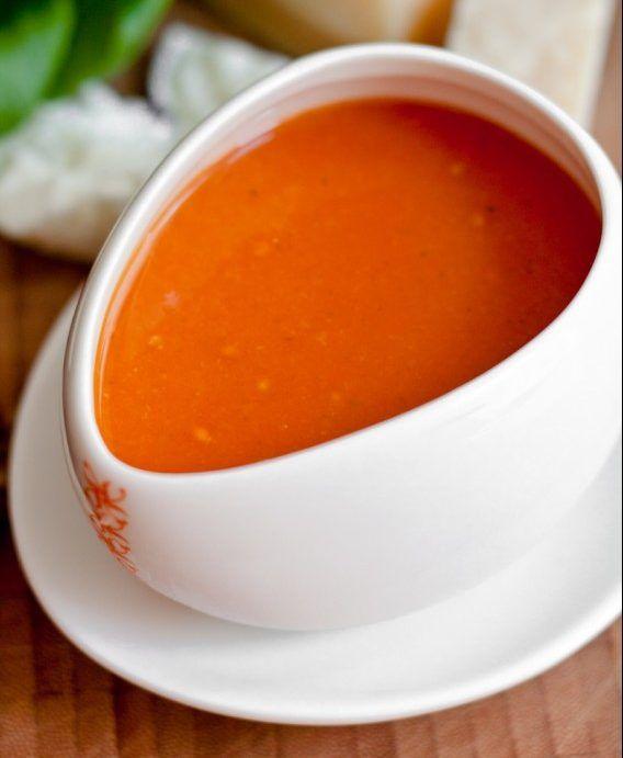 Einfache Tomatensuppe mit Dosentomaten von Jamie Oliver | Nur 5 Zutaten #menus
