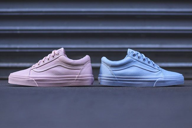 83bdefa5962b95 Vans Old Skool Mono Pack Blue Pink