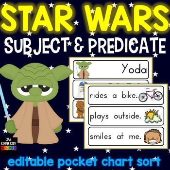 Wavestown Worksheet Word Subject And Predicate Sort  Star Wars Theme For Pocket Chart Abstract Noun Worksheet Word with Plane Shapes Worksheets Excel  1 Grade Worksheet