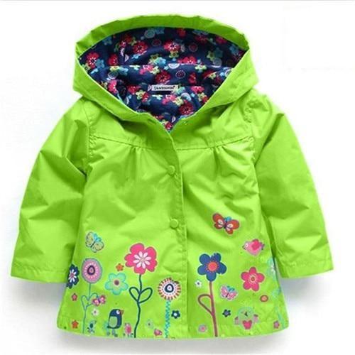 a5206742a33e8 New Long Sleeve Warm Fleece Jacket for Baby Girls. Children Coat Baby Girls  winter Coats long sleeve coat girl's warm Baby jacket Winter Outerwear  cartoon