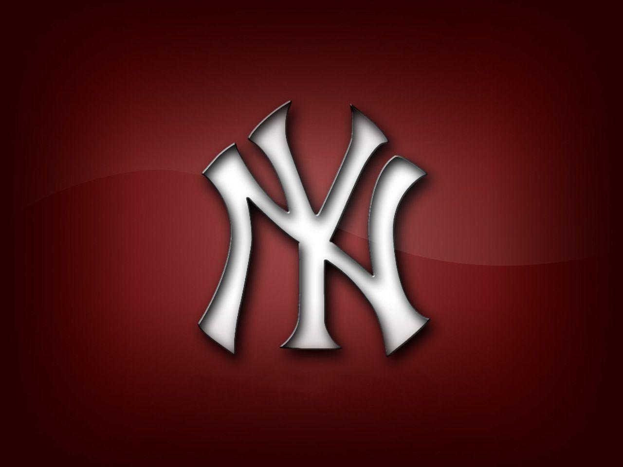 red logo yankees wallpaper
