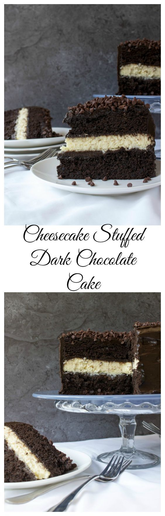 Dark Chocolate Peppermint Roll ~ this holiday dessert is a real show-stopper! Moist chocolate cake perfect peppermint buttercream and a delicious chocolate glaze!