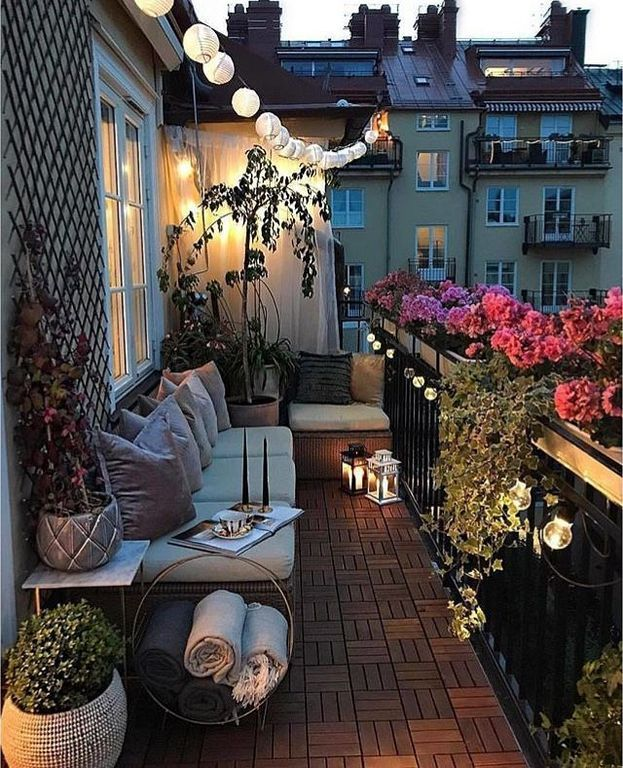 balcony lighting decorating ideas. 20+ Romantic Lighting Decorating Ideas For Small Balcony | Balconies, Spaces And Room Y