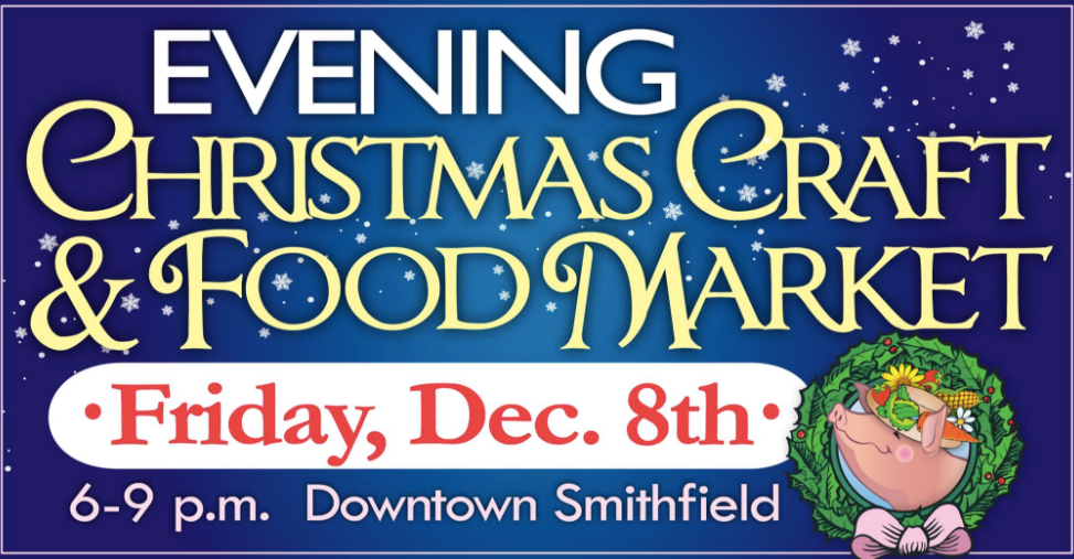 The annual Evening Christmas Craft & Food Market is this