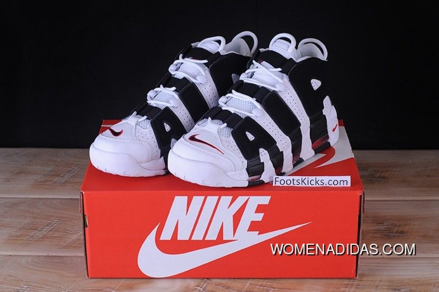 a4240e4fb65 Nike Air More Uptempo Gs White Black 414962-105 Discount Converse Schoenen