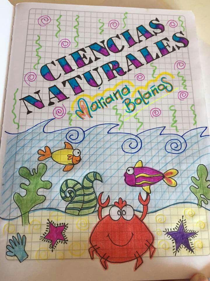 Pin De Ruth Brigham En Caratulas Y Etiquetas Cuadernos Creativos Carátulas Para Cuadernos Caratulas De Ciencias