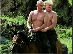 Trump amiguito de Putin,,, ahora entiendo