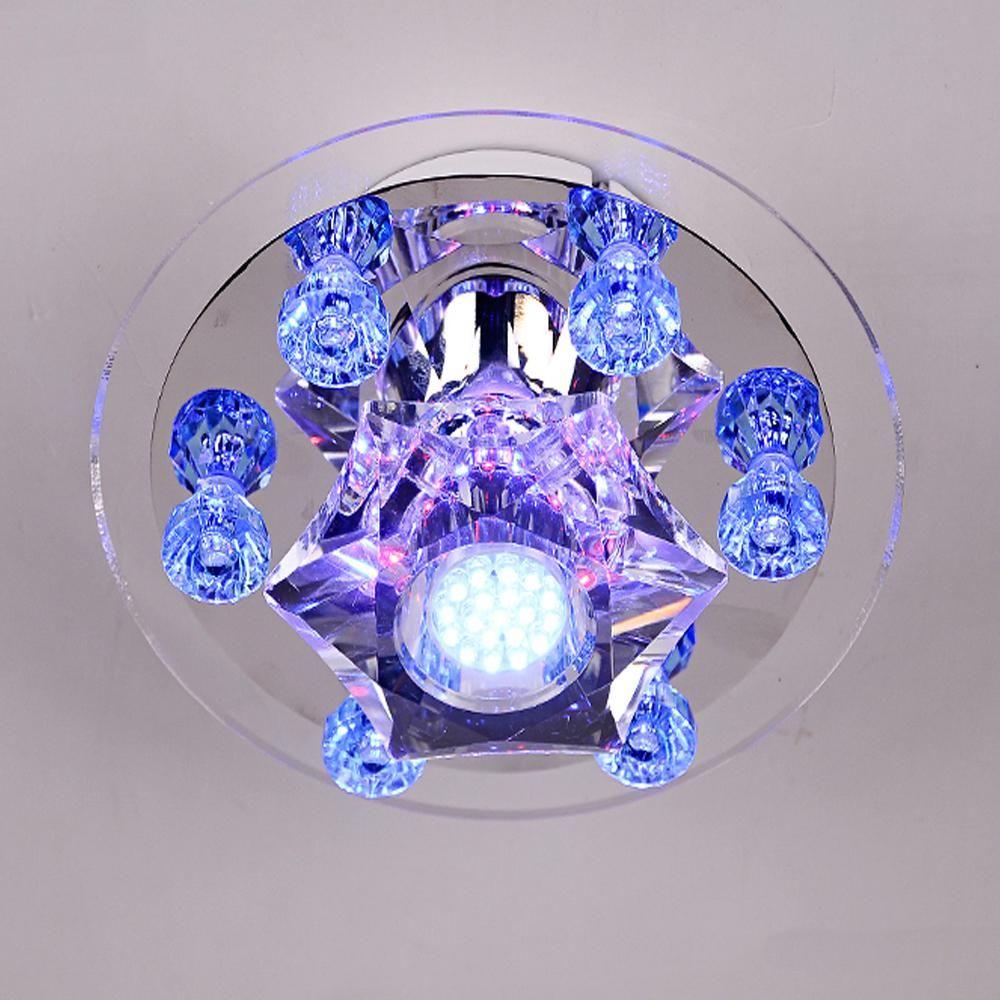 Crystal Led Spotlight Bulbs Home Lighting Recessed Luminaire 110v 220v Led Downlight Light Emitting Diode Ceiling S Spotlight Bulbs Led Spotlight Home Lighting
