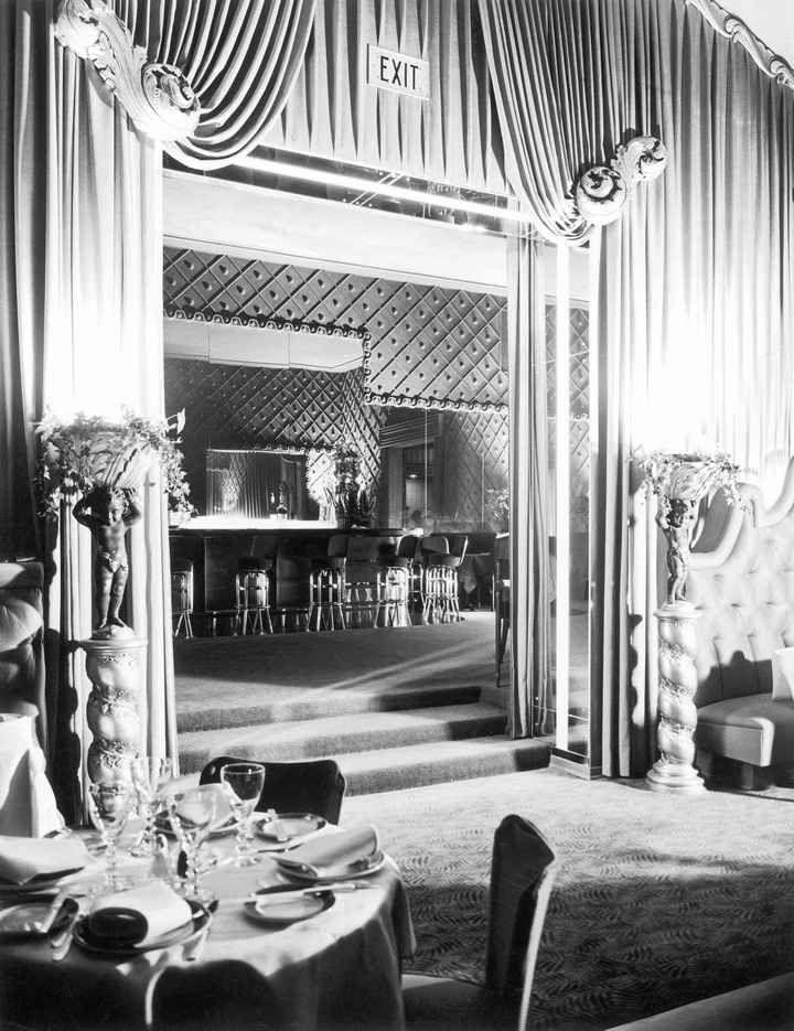 Historic Photograph of Interior Of Cirou0027s Nightclub