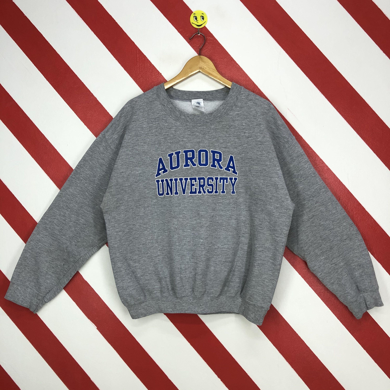 Vintage Aurora University Sweatshirt Aurora Crewneck Aurora Etsy Champion Sweatshirt Sweatshirts Vintage Sweatshirt [ 3000 x 3000 Pixel ]