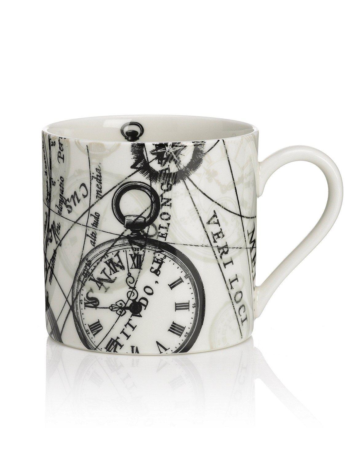 Time Travel Clocks Mug (With images) Travel clock, Mugs