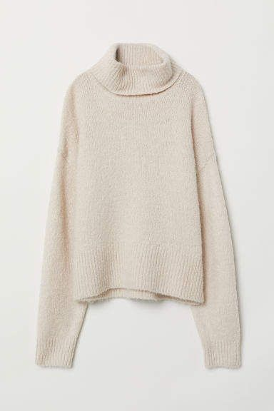 73b48058dc7 Knit Turtleneck Sweater | Autumn outfits | Sweaters, Sweater outfits ...