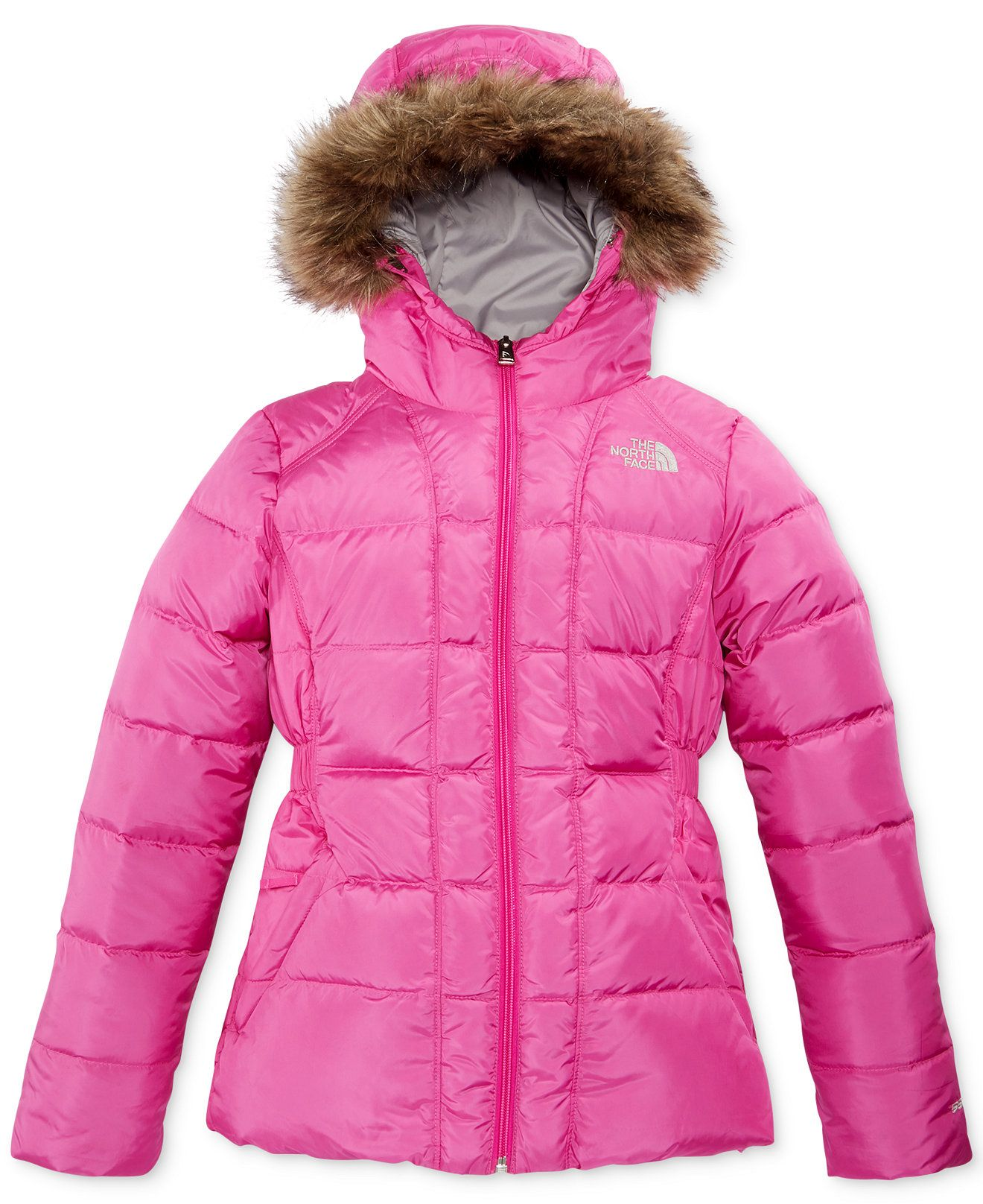 The North Face Toddler Girls Gotham Jacket Kids Macy S North Face Jacket North Face Puffer Jacket Jackets [ 1616 x 1320 Pixel ]