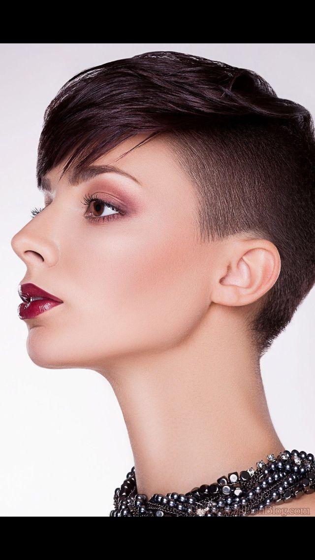 Shaved Side Hair Pinterest