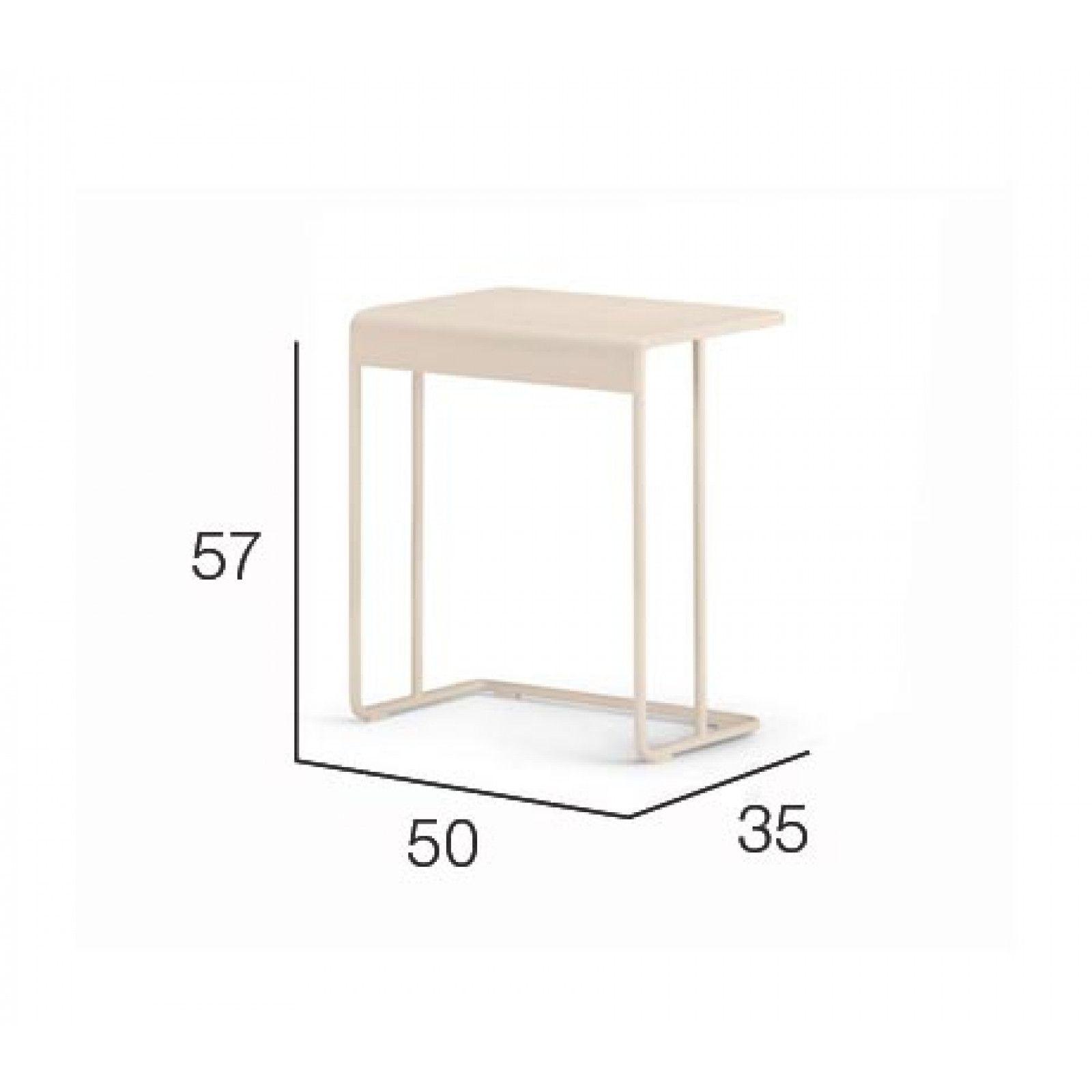 Dedon Lou Beistelltisch 50 35 Cm Gartenmobel Design