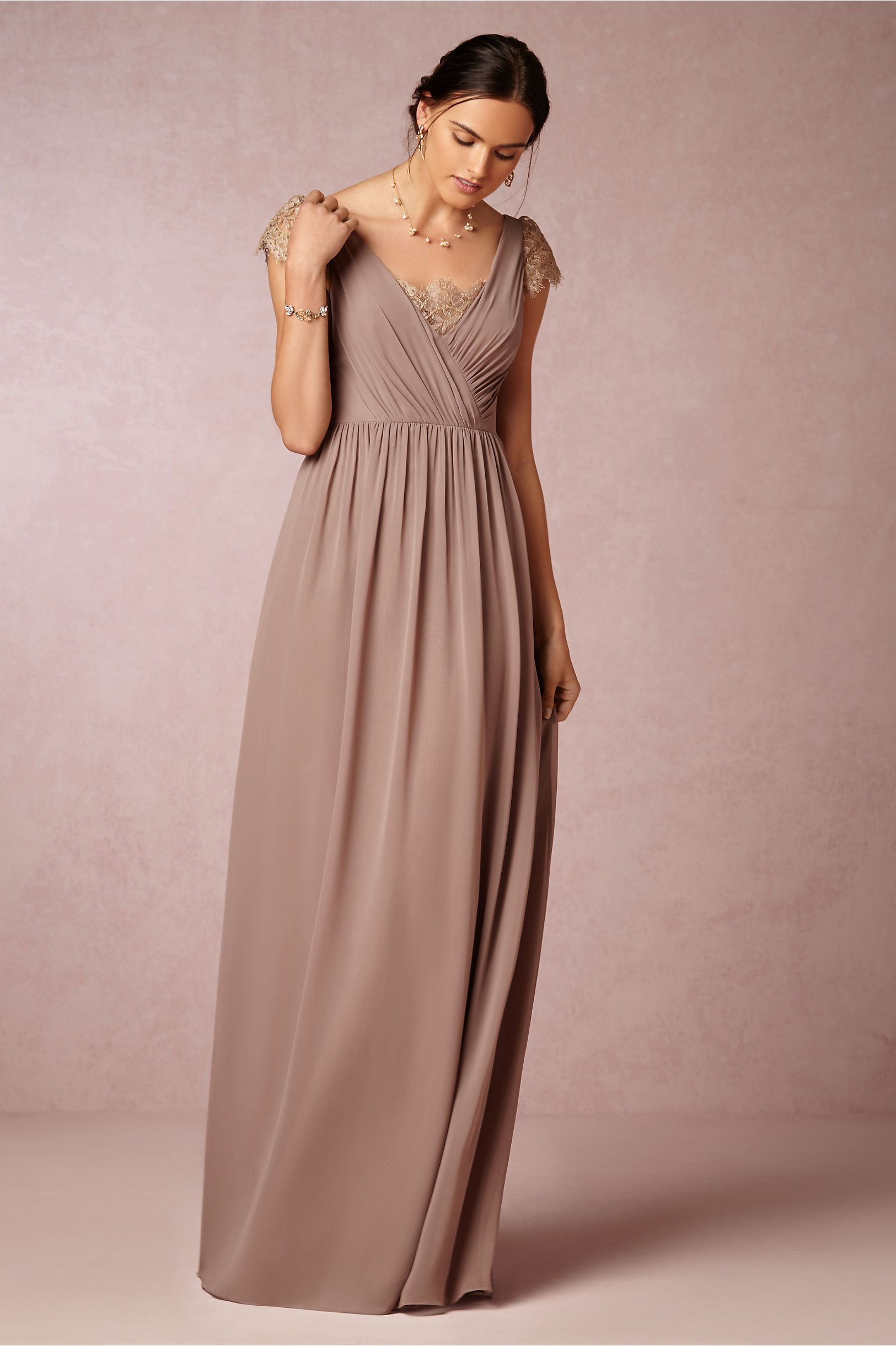 Love this in dusty mauve or blush! Evangeline Dress in Bridal Party ...
