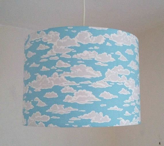 Cloud Lampshade Nursery Decor