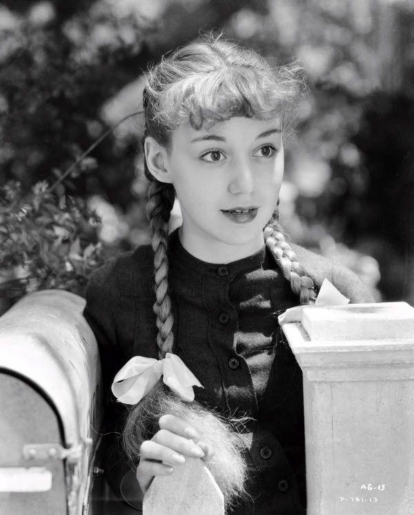 Anne Shirley As Anne Shirley Anne Of Green Gables Rko 1934