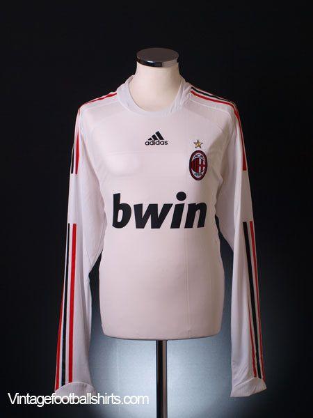 Ac Milan 2008 09 Jersey