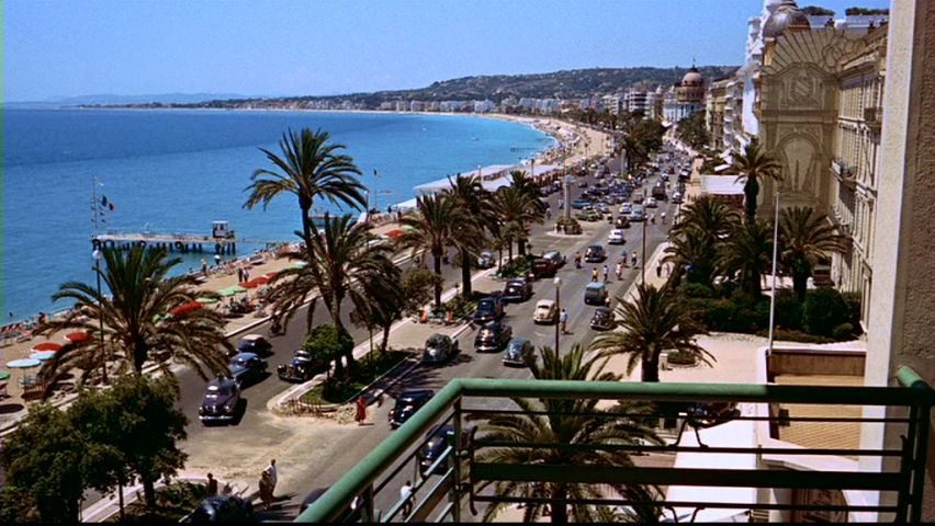 To Catch A Thief 1955 This Balcony Looks Out Over Promenade Des