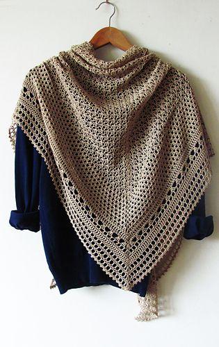 Hourglass pattern by Katya Novikova | crochet | Pinterest | Tücher ...