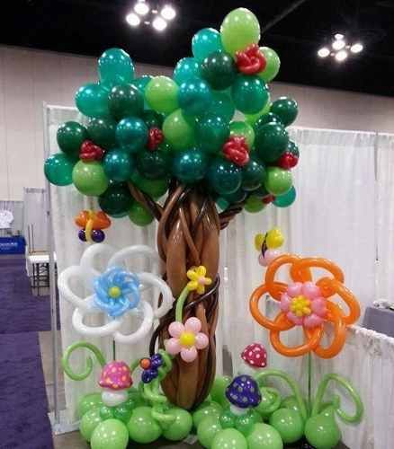 Decoraci n arreglos con globos fiestas eventos cumplea os - Decoracion con globos para cumpleanos ...