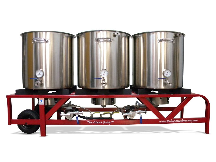 Alpha Ruby Beer Brewing System 1 Bbl Out Of Co Base Cost With Propane 3850 Beer Brewing System Brewing Beer Brewing Equipment