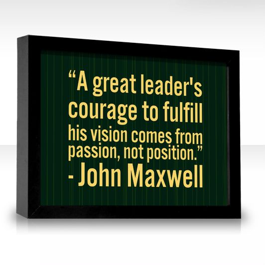 Leadership Vision Quotes: Good Quote For Intro To Ed