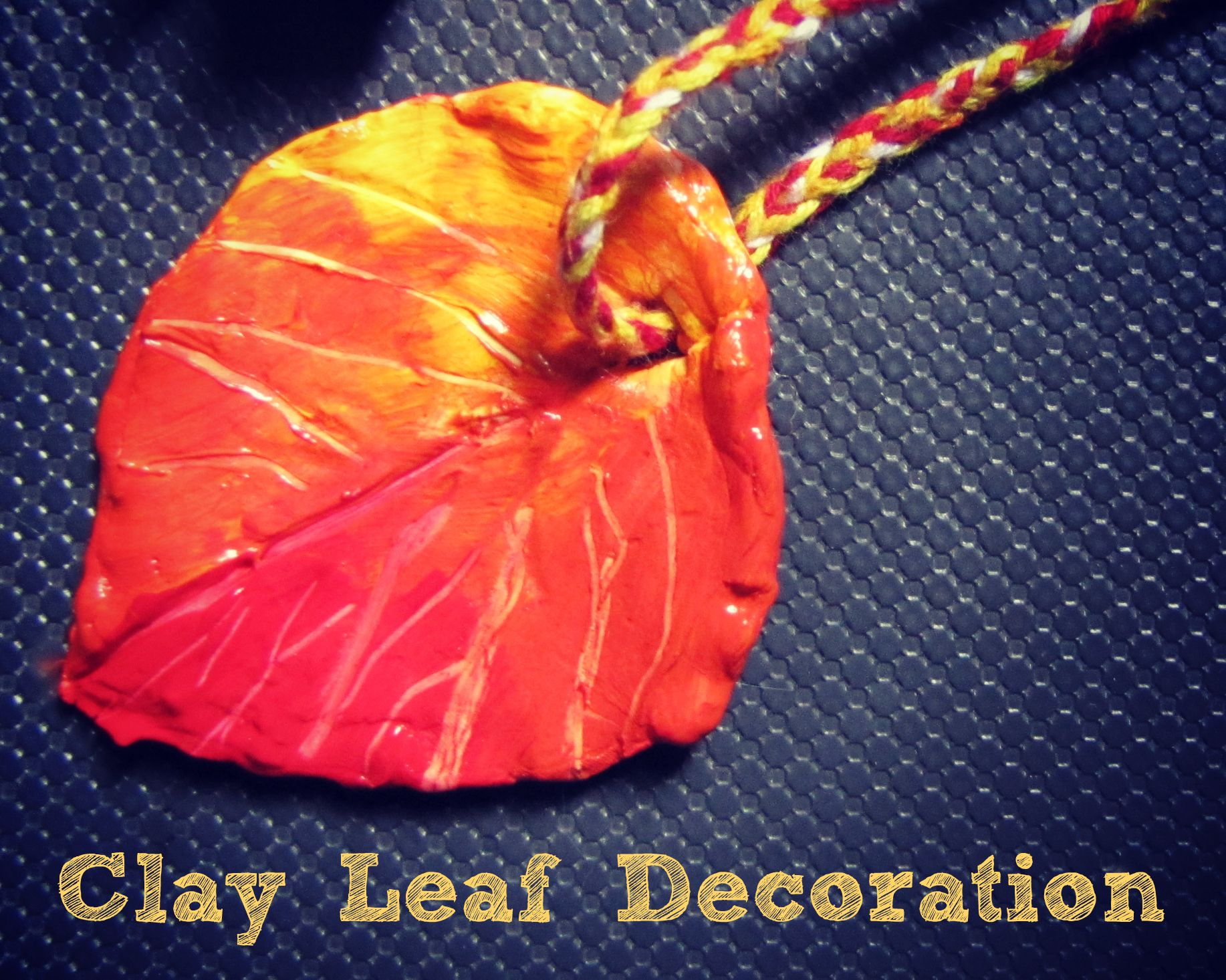 I saw some Model Magic leaves over on the Crayola website (which ...