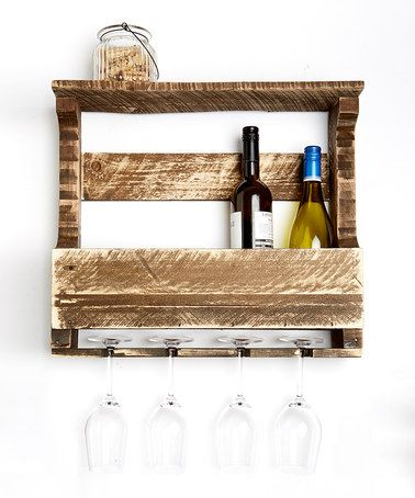 Distressed Dark Walnut Original Small Top Shelf A GREAT FIND $42.99  #zulily #zulilyfinds